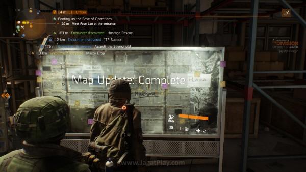 Ada serangkaian misi utama dan sampingan yang bisa Anda tempuh dalam skema semi open-world.