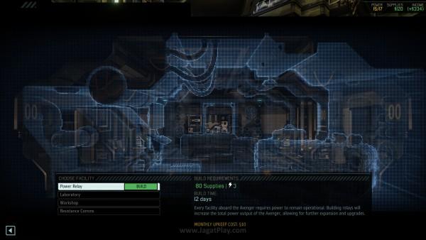 Membangun ruangan di Avenger membutuhkan resource besar dan listrik
