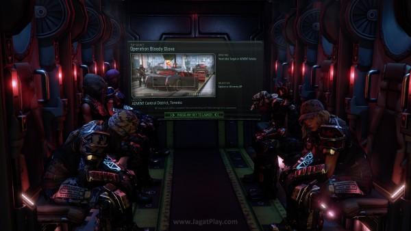 Sambil menunggu Loading, Anda dapat melihat tujuan misi