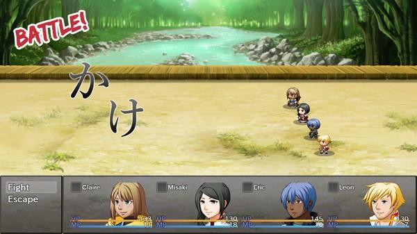 RPG ini didesain untuk membantu Anda menguasai dasar bahasa Jepang dengan cara yang lebih fun.