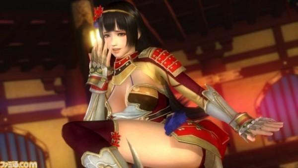 Naotora Ii - karakter wanita dari Samurai Warriors dikonfirmasikan sebagai karakter petarung baru untuk DOA 5: Last Round.