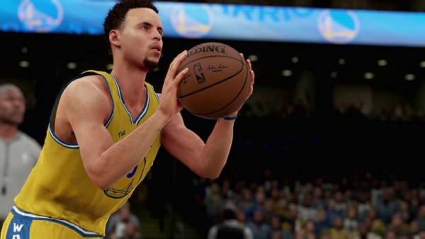 NBA 2K mengaku bingung memproyeksikan kemampuan Stephen Curry di game karena kemampuannya di dunia nyata bisa dibilang, masuk ke kategori