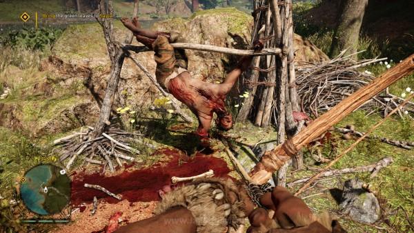 Tetapi di sisi lain, ia juga berhasil menangkap betapa brutalnya ia. Manusia tak lebih dari seonggok daging yang menunggu kematian yang bisa datang dari banyak arah.
