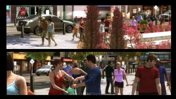 Sayangnya, cut-scene di Heavy Rain tampil dalam video resolusi rendah yang terlihat buruk, seolah bertabrakan dengan apa yang berusaha dilakukan Quantic Dream di sisa game yang ada.