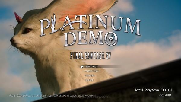 Platinum Demo FF XV (2)