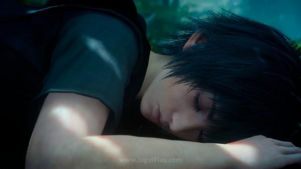 Anda memainkan Noctis muda yang terperangkap di dunia mimpinya sendiri.