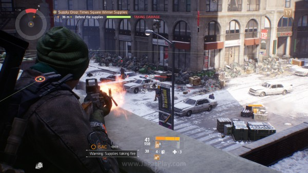 Ia dimainkan dengan gaya sebuah game third person shooter, namun dibungkus dengan banyak elemen RPG di sekitarnya. Termasuk sistem damage, misalnya.