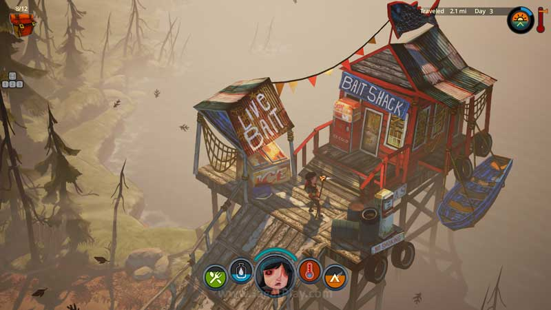 The Flame in the Flood jaga