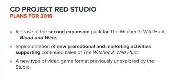 Rencana tahun 2016 - sebuah game baru dengan genre yang tak pernah mereka racik sebelumnya?