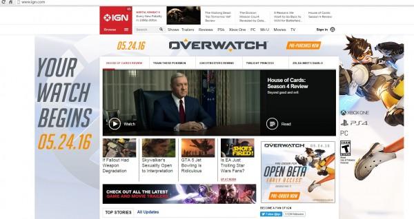 Iklan yang tak sengaja dirilis IGN terlalu awal ini akhirnya