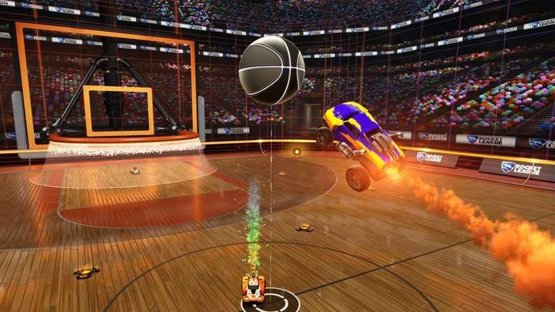 rocket league dunk house 1