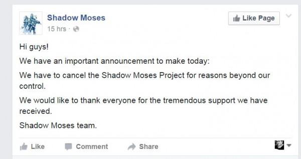 Proyek remake MGS dari fans - Shadow Moses resmi mati untuk