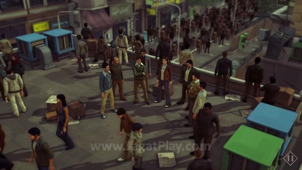 Game ini menelusuri narasi berdasar cerita nyata ketika terjadinya revolusi Iran di 1979