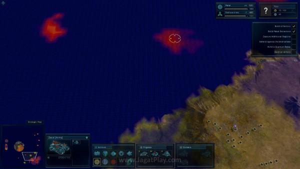 Radar memungkinkan Anda untuk melihat posisi musuh di balik Fog of War