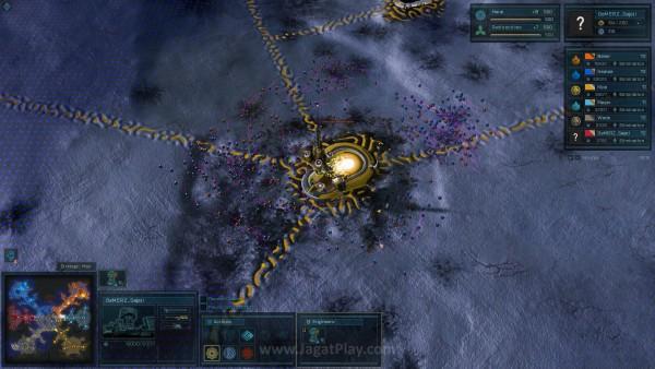 Bahkan unit berukuran kecil seperti drone sekalipun dapat terlihat jelas di dalam permainan