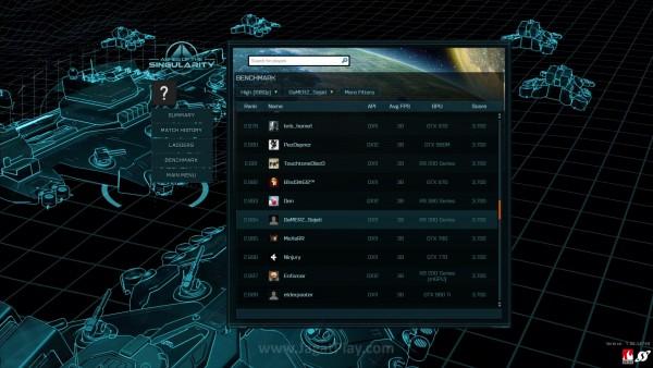 Bukan hanya kemampuan Anda saja yang dinilai, kemampuan PC gaming Anda juga dapat memiliki rangking!