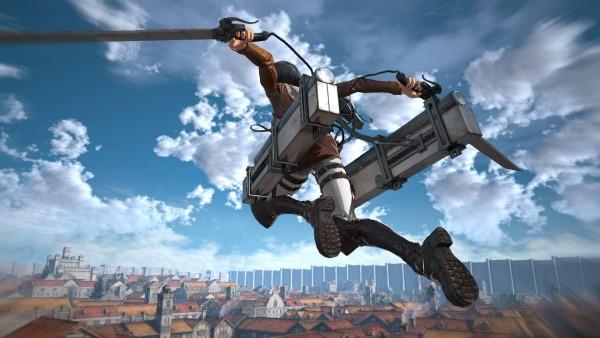 Game Attack on Titan terbaru yang mengambil nama