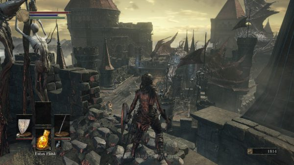Luas, tak linear, penuh cabang, dunia Dark Souls 3 mengundang Anda untuk menjelajahinya. Selalu ada kejutan di sudutnya.