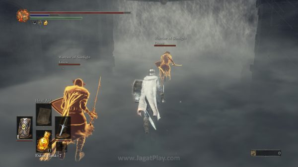 Tiga hari tak mampu menundukkan Nameless King, bantuan dari grup Facebook Souls - Bloodborne Indonesia akhirnya mendatangkan bala bantuan yang selama ini dinanti.