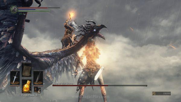 Anda mungkin keren. Namun Anda tak akan sekeren Nameless King yang menunggang naga dan melempar petir.