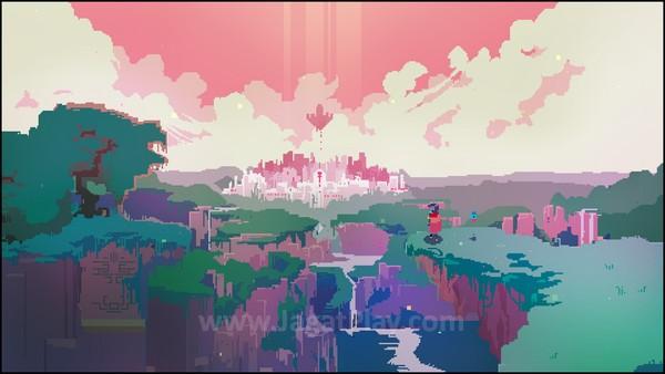 Visual 2D yang ditampilkan game ini memiliki keindahan tersendiri