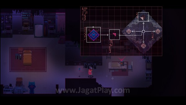 Tujuan permainan juga ditunjukkan dengan gambar saja