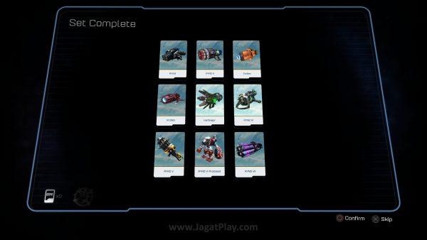 Anda juga bisa mengumpulkan set kartu tertentu untuk mendapatkan buff permanen, bahkan senjata yang lebih kuat.