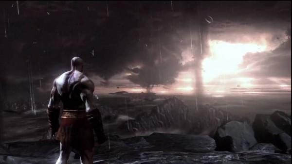 god of war 3 ending