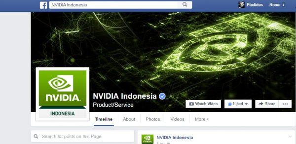 Like Facebook Nvidia Indonesia.