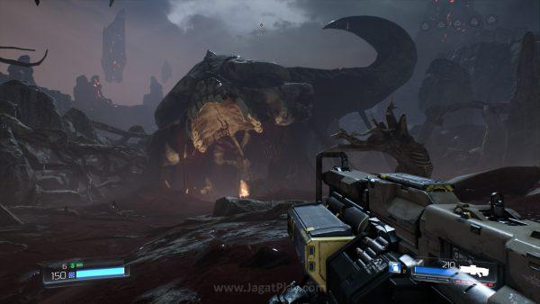 Apa yang sebenarnya terjadi? Mampukah si Doom Guy mengatasi ancaman yang satu ini?