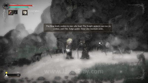 Dialog dalam permainan menyusun ceritanya