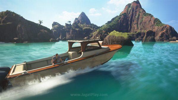 Salah satu chapter bahkan memungkinkan Anda untuk menjelajahi gugusan pulau kecil dengan bebas.