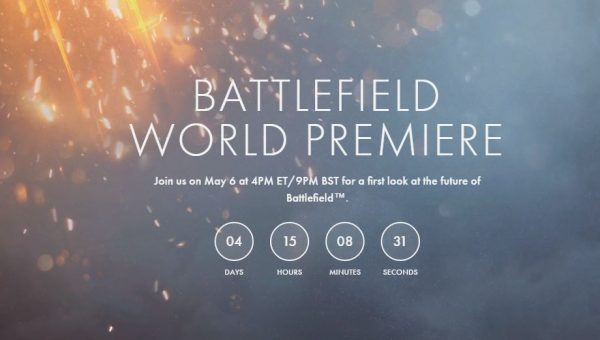 EA dan DICE akan memperkenalkan seri terbaru Battlefield tanggal 6 Mei 2016 mendatang.
