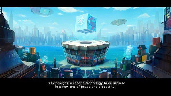 Di tengah kota yang damai, dimana manusia dan robot hidup berdampingan, sebuah virus misterius membuat robot-robot ini kehilangan kembali.
