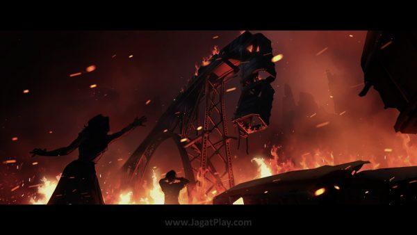 Pemberontakan, koruspi, agenda terselubung, Overwatch akhirnya terpecah belah.
