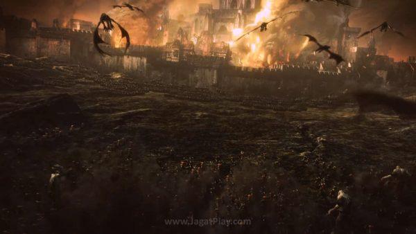 Dunia Warhammer dituangkan dengan baik ke dalam perang masif
