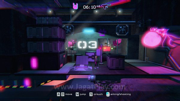 Bermodalkan gameplay Platformer, game ini memiliki kesulitan menengah
