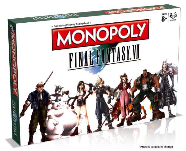 Final Fantasy VII kini hadir dalam bentuk monopoli.