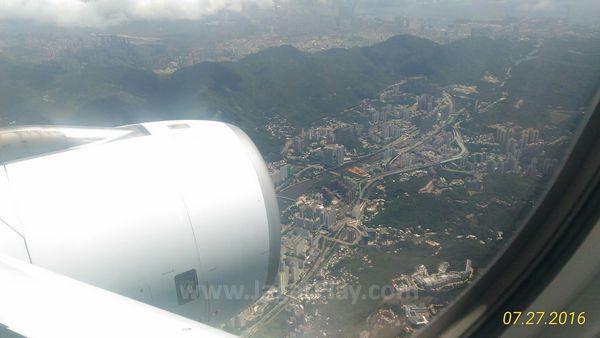 Akhirnya sampai juga di Hong Kong setelah perjalanan selama 5 jam.