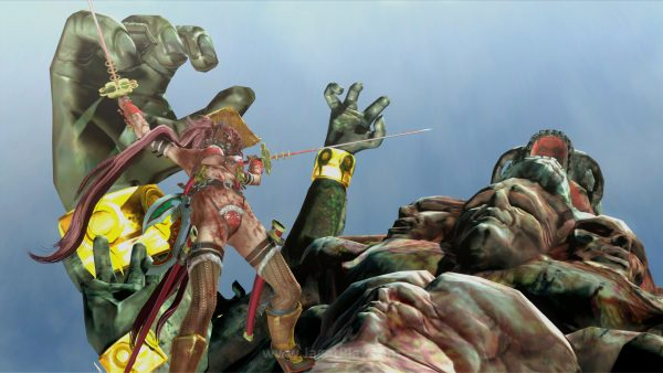 Ukuran musuh dari zombie sampai raksasa!