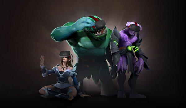 Menyambut The International yang akan dimulai minggu depan, Valve akhirnya menyuntikkan fitur VR untuk DOTA 2.