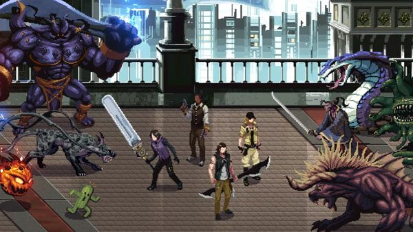 Tak hanya anime, film cgi, dan game mobile, Final Fantasy XV juga punya game side scroller action dua dimensi.
