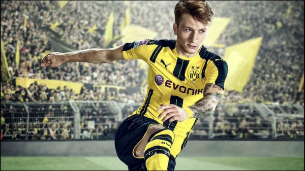 Marco Reus terpilih menjadi bintang cover utama untuk FIFA 17.