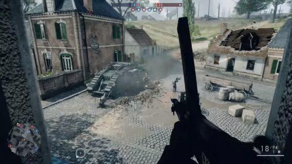 DICE merilis trailer terbaru Battlefield 1 yang berfokus pada senjata.