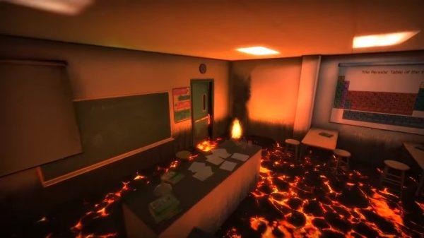 Hot Lava - permainan yang sering kita mainkan waktu kecil kini berakhir jadi video game baru racikan Klei Entertainment.