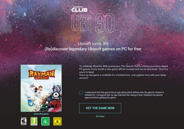 Anda bisa mengunduh Rayman Origins original secara cuma-cuma sekarang!