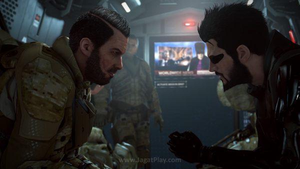 Deus Ex: Mankind Divided mengambil cerita dua tahun setelah Human Revolution.