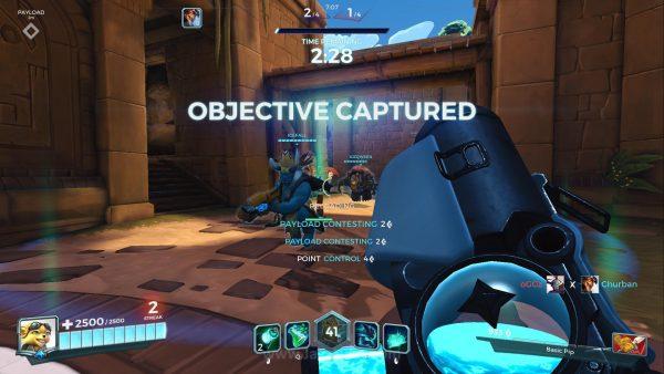 Untuk saat ini, mode permainan yang tersedia hanyalah Hybrid - kombinasi mode Assault dan Escort.