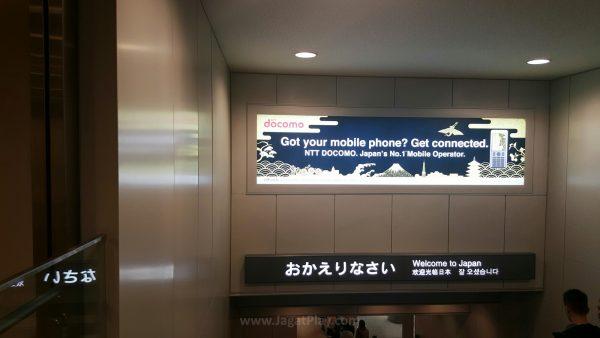 Selamat datang di Tokyo! Shoutout to Sony!