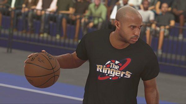 Thierry Henry akan jadi karakter cameo di NBA 2K17.